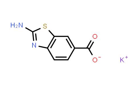 1017488-71-9 | Potassium 2-amino-1,3-benzothiazole-6-carboxylate