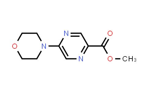 1017604-09-9 | Methyl 5-morpholinopyrazine-2-carboxylate