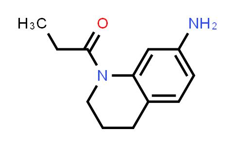 1017674-20-2 | 1-Propionyl-1,2,3,4-tetrahydroquinolin-7-amine