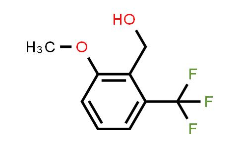 1017779-01-9 | 2-Methoxy-6-(trifluoromethyl)benzenemethanol