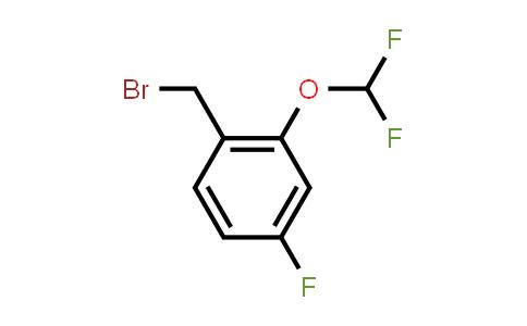 1017779-42-8 | 1-(Bromomethyl)-2-(difluoromethoxy)-4-fluorobenzene