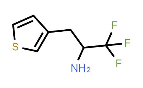 1017781-57-5 | 1,1,1-trifluoro-3-(thiophen-3-yl)propan-2-amine