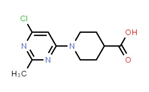 1017782-77-2 | 1-(6-Chloro-2-methylpyrimidin-4-yl)piperidine-4-carboxylic acid