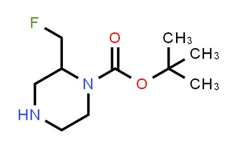 1017789-35-3 | 1-Piperazinecarboxylic acid, 2-(fluoromethyl)-, 1,1-dimethylethyl ester
