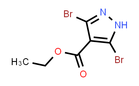 1017802-86-6 | Ethyl 3,5-dibromo-1H-pyrazole-4-carboxylate