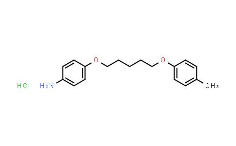 101781-61-7 | 4-((5-(p-Tolyloxy)pentyl)oxy)aniline hydrochloride