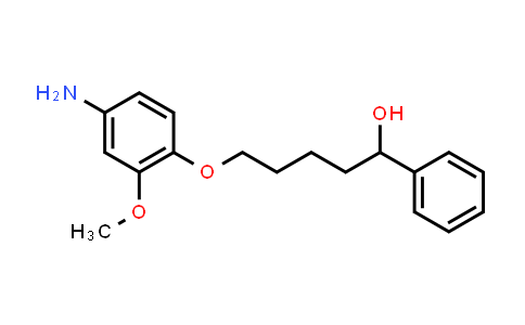 101782-07-4 | 5-(4-Amino-2-methoxyphenoxy)-1-phenylpentan-1-ol