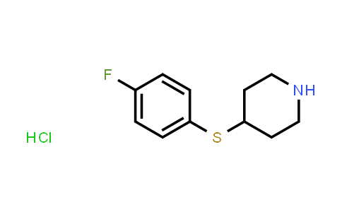101798-76-9 | 4-((4-Fluorophenyl)thio)piperidine hydrochloride