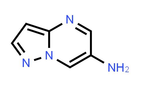 1018125-39-7 | Pyrazolo[1,5-a]pyrimidin-6-amine