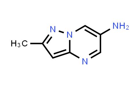 1018143-51-5 | 2-Methylpyrazolo[1,5-a]pyrimidin-6-amine