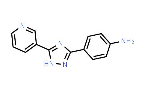 1018168-01-8 | [4-(5-Pyridin-3-yl-1H-1,2,4-triazol-3-yl)phenyl]amine