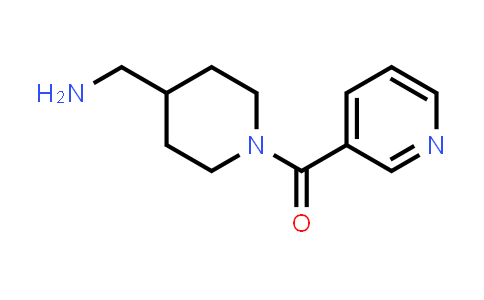 1018258-85-9 | (4-(Aminomethyl)piperidin-1-yl)(pyridin-3-yl)methanone