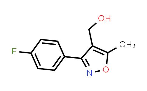 1018297-63-6 | (3-(4-Fluorophenyl)-5-methylisoxazol-4-yl)methanol