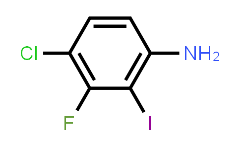 1018450-37-7 | 4-Chloro-3-fluoro-2-iodoaniline