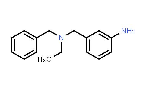1018517-42-4 | 3-((Benzyl(ethyl)amino)methyl)aniline