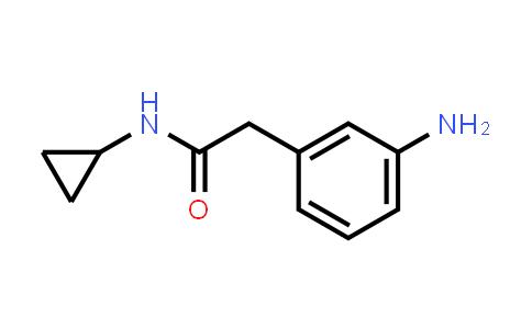 1018525-62-6   2-(3-Aminophenyl)-n-cyclopropylacetamide