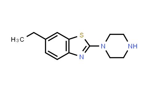 1018566-85-2 | 6-Ethyl-2-piperazin-1-yl-1,3-benzothiazole