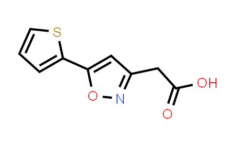 1018584-21-8 | [5-(2-Thienyl)isoxazol-3-yl]acetic acid