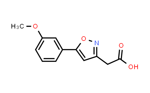 1018584-61-6 | [5-(3-Methoxyphenyl)isoxazol-3-yl]acetic acid