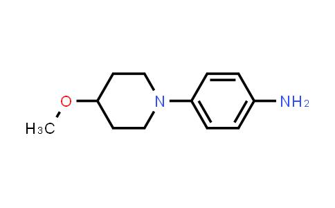 1018635-74-9 | 4-(4-Methoxypiperidin-1-yl)aniline