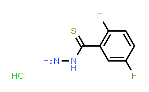 1018690-17-9 | 2,5-Difluorobenzothiohydrazide hydrochloride
