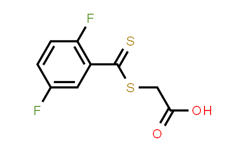 1018690-18-0 | Acetic acid, 2-[[(2,5-difluorophenyl)thioxomethyl]thio]-