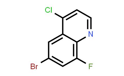 1019016-66-0 | 6-Bromo-4-chloro-8-fluoroquinoline