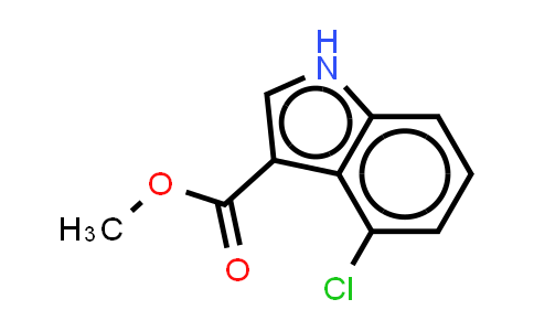 101909-42-6 | 1H-INDOLE-3-CARBOXYLIC ACID,4-CHLORO-,METHYL ESTER