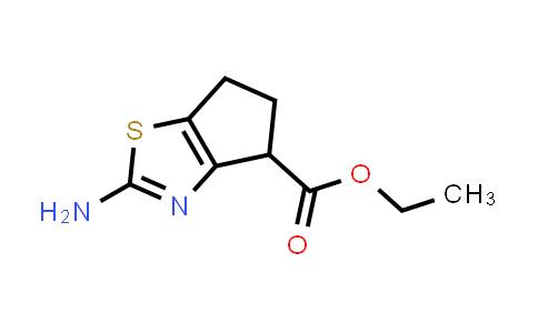 1019108-35-0 | Ethyl 2-amino-5,6-dihydro-4H-cyclopenta[d]thiazole-4-carboxylate