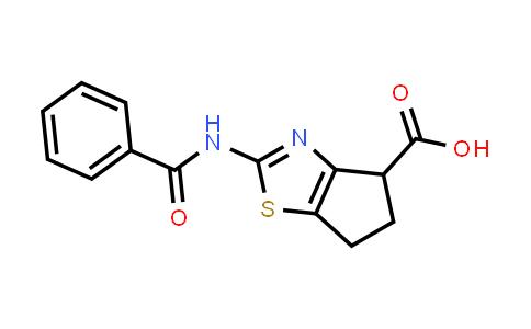 1019117-26-0 | 2-(Benzoylamino)-5,6-dihydro-4H-cyclopenta[d][1,3]thiazole-4-carboxylic acid