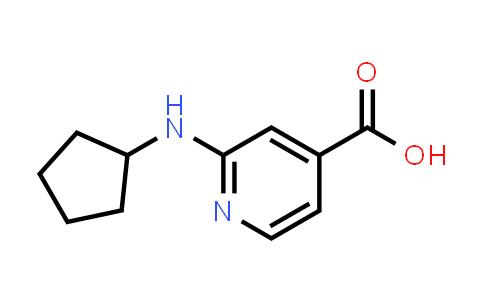 1019127-19-5 | 2-(Cyclopentylamino)isonicotinic acid