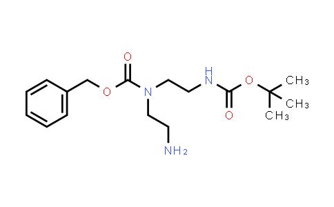 1019333-29-9 | Benzyl (2-aminoethyl)(2-((tert-butoxycarbonyl)amino)ethyl)carbamate