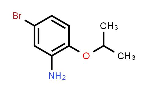 1019442-22-8 | 5-Bromo-2-isopropoxyaniline