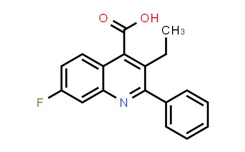 1019462-84-0   3-Ethyl-7-fluoro-2-phenylquinoline-4-carboxylic acid
