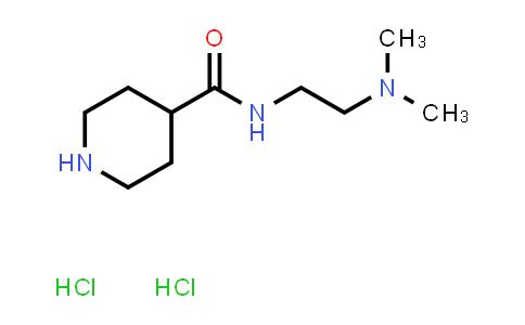 1019851-96-7   N-(2-(Dimethylamino)ethyl)piperidine-4-carboxamide dihydrochloride