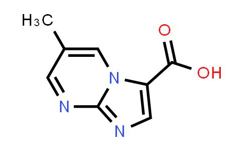 1020035-04-4 | 6-Methylimidazo[1,2-a]pyrimidine-3-carboxylic acid