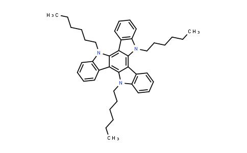 1020085-72-6 | 5,10,15-Trihexyl-10,15-dihydro-5H-diindolo[3,2-a:3',2'-c]carbazole