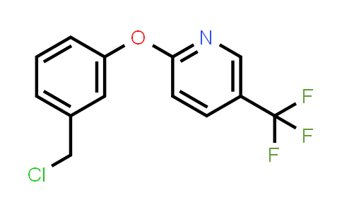 1020325-30-7 | 2-(3-(Chloromethyl)phenoxy)-5-(trifluoromethyl)pyridine