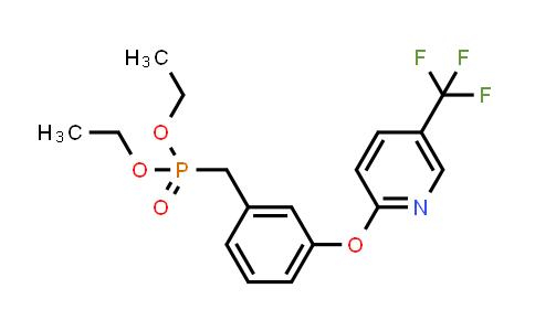 1020325-38-5 | Diethyl (3-((5-(trifluoromethyl)pyridin-2-yl)oxy)benzyl)phosphonate