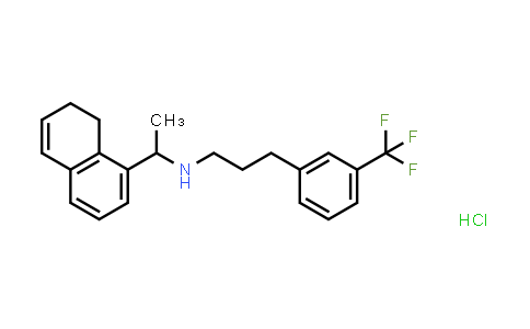 1020414-33-8 | 1-Naphthalenemethanamine, 7,8-dihydro-α-methyl-N-[3-[3-(trifluoromethyl)phenyl]propyl]-, hydrochloride (1:1), (αR)-