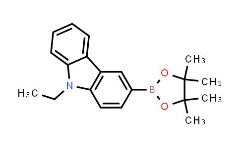 1020657-86-6   9-Ethyl-3-(4,4,5,5-tetramethyl-1,3,2-dioxaborolan-2-yl)-9H-carbazole