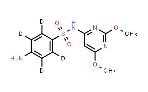 1020719-80-5   Sulfadimethoxine D4