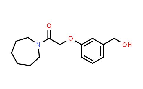 1020952-43-5 | 1-(Azepan-1-yl)-2-(3-(hydroxymethyl)phenoxy)ethan-1-one
