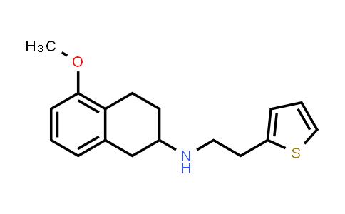 102120-95-6 | 2-Thiopheneethanamine, N-(1,2,3,4-tetrahydro-5-methoxy-2-naphthalenyl)-