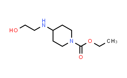 1021246-92-3 | Ethyl 4-[(2-hydroxyethyl)amino]piperidine-1-carboxylate