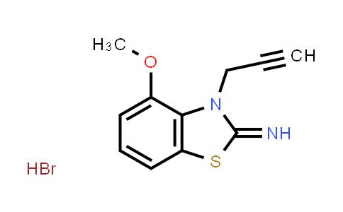 102126-12-5 | 4-Methoxy-3-(prop-2-yn-1-yl)benzo[d]thiazol-2(3H)-imine hydrobromide