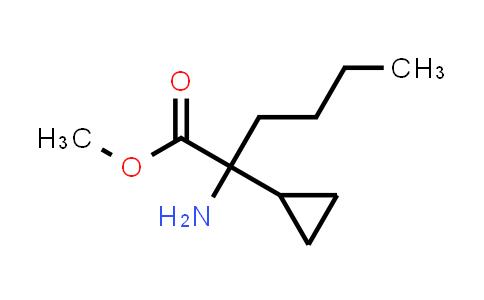1021266-81-8 | methyl 2-amino-2-cyclopropylhexanoate