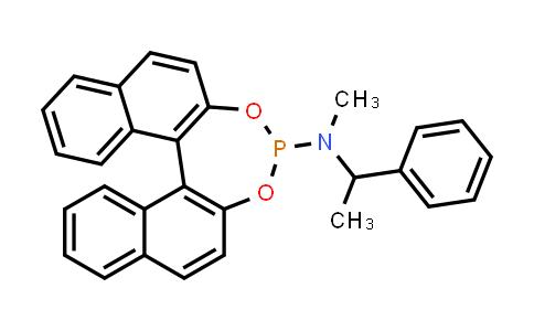 1021439-57-5   (11bR)-N-Methyl-N-[(R)-1-phenylethyl]-dinaphtho[2,1-d:1',2'-f][1,3,2]dioxaphosphepin-4-amine