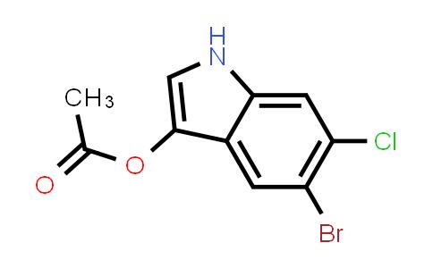 102185-48-8 | 5-Bromo-6-chloro-1H-indol-3-yl acetate