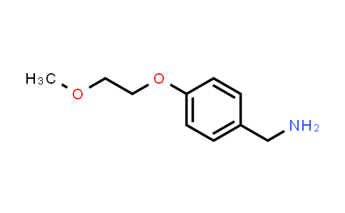 102196-20-3 | (4-(2-Methoxyethoxy)phenyl)methanamine